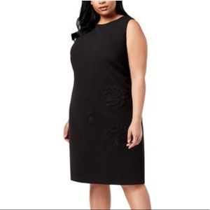 NWT Betsey Johnson Embroidered Sheath Dress